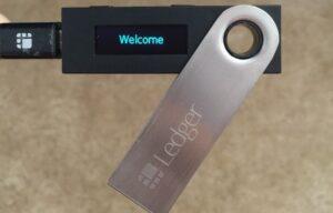 de ledger nano hardware wallet