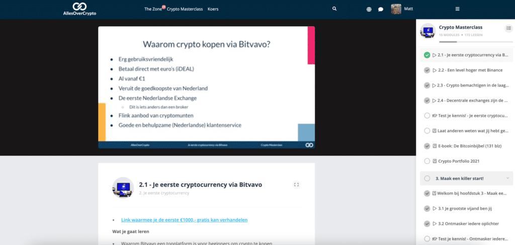 eerste cryptocurrency kopen