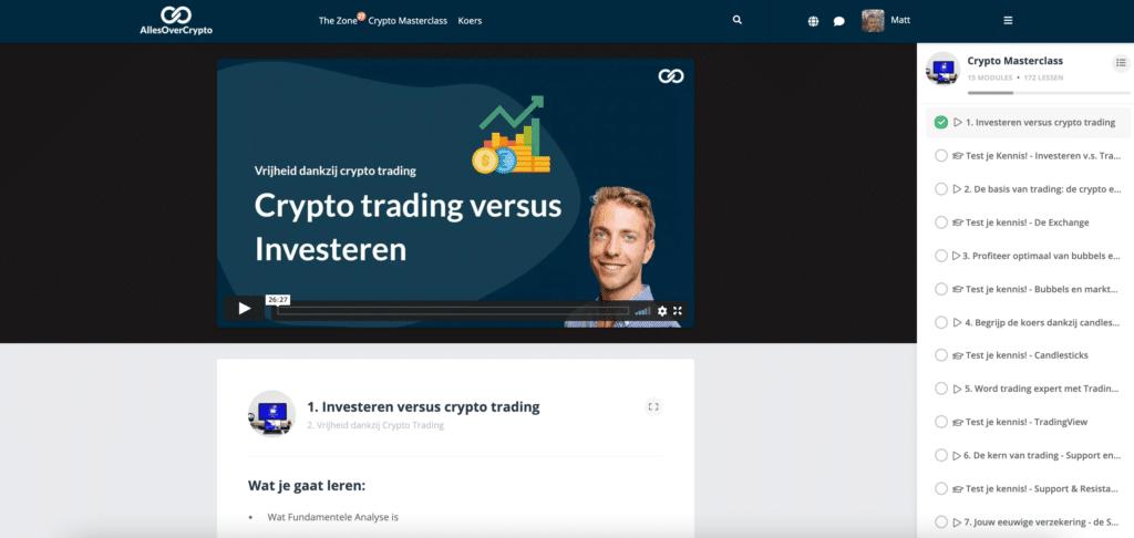 meer vrijheid dankzij crypto trading