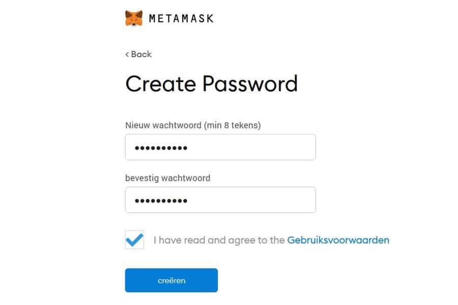 Afbeelding metamask stap3